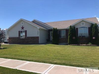 Idaho Falls Single Family Home For Sale: 3263 Ivory Drive