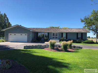 Rexburg Single Family Home For Sale: 3431 W Hwy 33