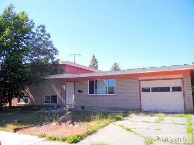 Idaho Falls Single Family Home For Sale: 1883 12th Street