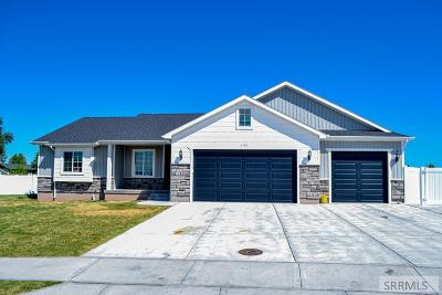 Idaho Falls Single Family Home For Sale: 4101 Lone Rock Road