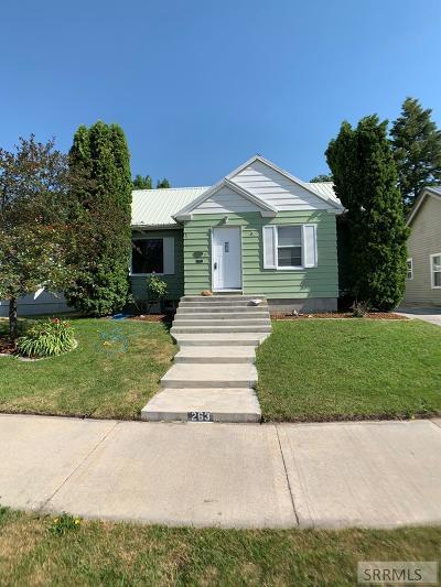 Idaho Falls Single Family Home For Sale: 263 E 7th Street