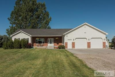 Idaho Falls Single Family Home For Sale: 8135 N 45 E