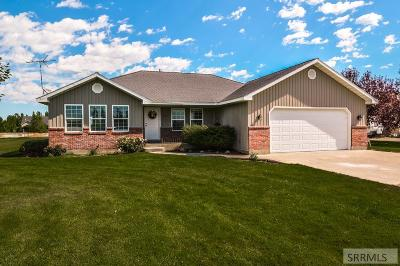 Rigby Single Family Home For Sale: 3921 E 132 N