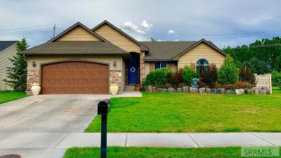 Idaho Falls Single Family Home For Sale: 3778 Tradition Circle