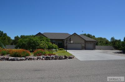 Rigby Single Family Home For Sale: 4261 E Blackstone Drive
