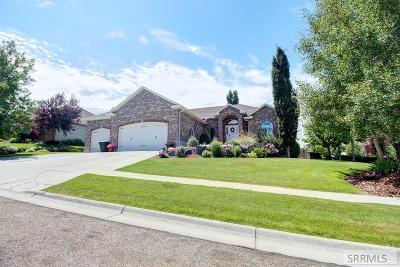 Rexburg Single Family Home For Sale: 118 S Hidden Valley Road
