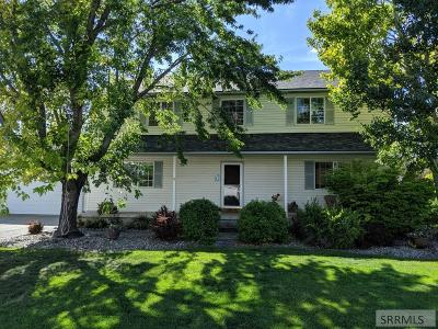 Idaho Falls Single Family Home For Sale: 997 Lost River Road