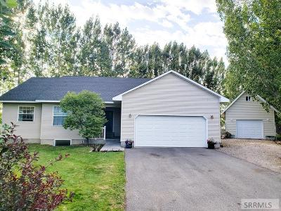 Rigby Single Family Home For Sale: 3848 E 22 N