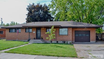 Idaho Falls Single Family Home For Sale: 1154 E 21st Street