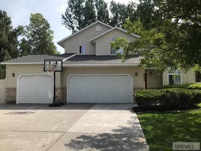Idaho Falls Single Family Home For Sale: 3383 Chimney Peak