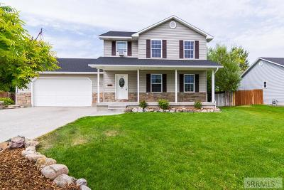 Idaho Falls Single Family Home For Sale: 3829 E Deer Creek
