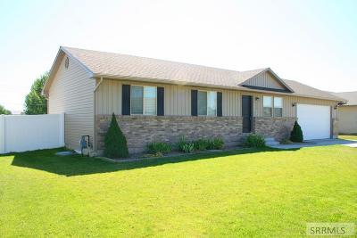 Idaho Falls Single Family Home For Sale: 312 N Kimberly Drive