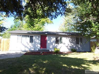 Idaho Falls Single Family Home For Sale: 428 Croft Drive