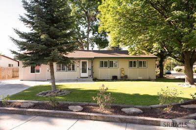 Idaho Falls Single Family Home For Sale: 1568 Irving Street