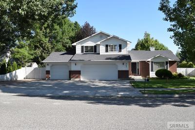 Idaho Falls Single Family Home For Sale: 460 Pevero Drive