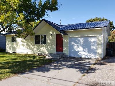 Idaho Falls Single Family Home For Sale: 2163 1st Street