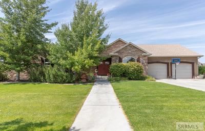 Idaho Falls Single Family Home For Sale: 5480 Long Cove Drive