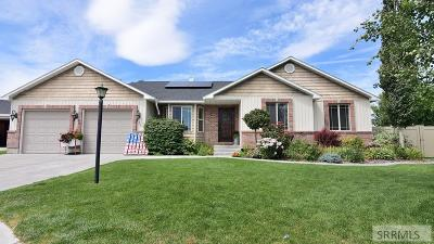 Rigby Single Family Home For Sale: 528 Boulder