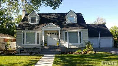 Idaho Falls Single Family Home For Sale: 635 11th Street