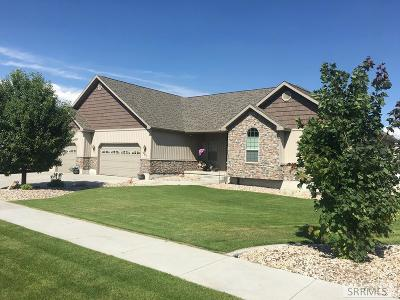 Rexburg ID Single Family Home For Sale: $365,000