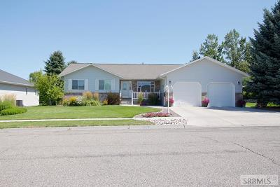 Rexburg ID Single Family Home For Sale: $335,000