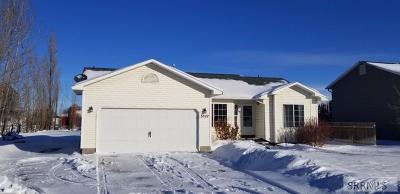 Idaho Falls Single Family Home For Sale: 3527 E 20 N