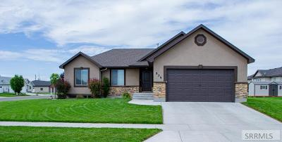 Rexburg ID Single Family Home For Sale: $325,000