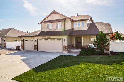 Idaho Falls Single Family Home For Sale: 3984 Silverado Drive