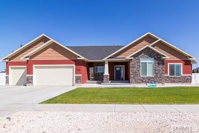 Idaho Falls Single Family Home For Sale: 2105 E Cedar Point Lane