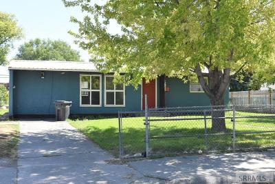 Idaho Falls Single Family Home For Sale: 1360 Vernon Avenue