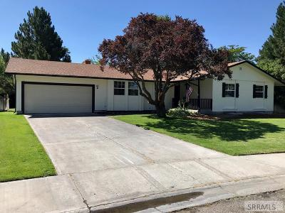Idaho Falls Single Family Home For Sale: 1852 Malibu Drive