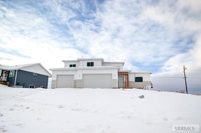 Rexburg Single Family Home For Sale: 1370 Stone Drive