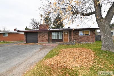Rexburg Single Family Home For Sale: 553 Park Street