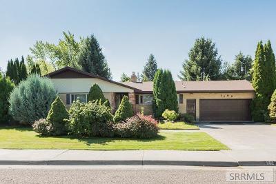 Idaho Falls Single Family Home For Sale: 1102 Mojave Street