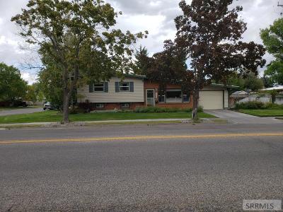 Idaho Falls Single Family Home For Sale: 1605 12th Street