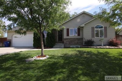 Idaho Falls Single Family Home For Sale: 3050 N High Point Drive
