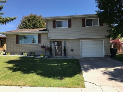 American Falls ID Single Family Home For Sale: $169,900