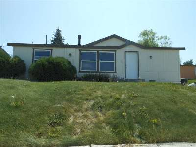American Falls ID Single Family Home For Sale: $85,000
