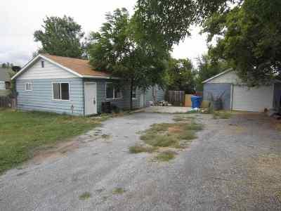 Pocatello ID Single Family Home For Sale: $85,000