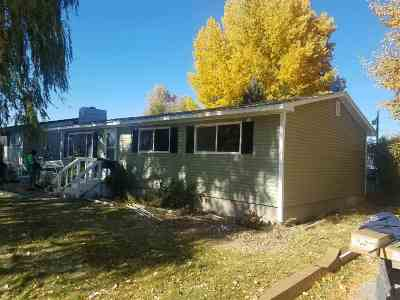 American Falls ID Single Family Home For Sale: $93,500