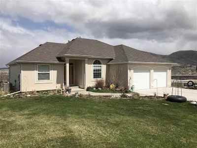 Pocatello Single Family Home Und Cont W/Cntg-Sell Home: 9340 W Abby Rd