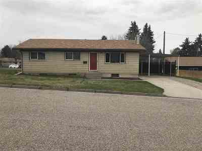 American Falls ID Single Family Home For Sale: $148,000