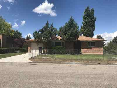 American Falls ID Single Family Home For Sale: $159,900