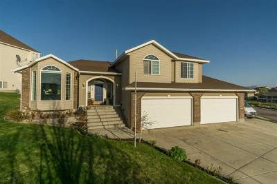 Pocatello Single Family Home For Sale: 1614 Satterfield Dr