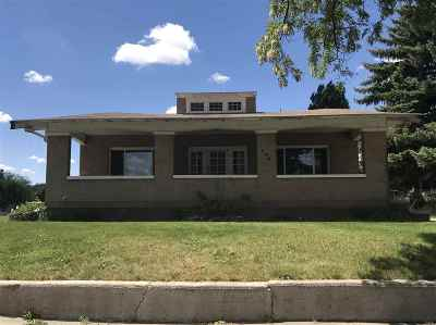 American Falls ID Single Family Home For Sale: $109,000