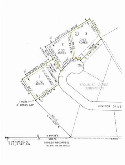 Pocatello Residential Lots & Land For Sale: Juniper Heights - L1 & L3 B1
