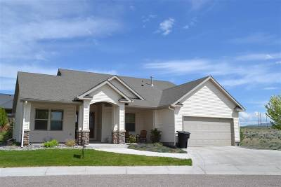 American Falls ID Single Family Home For Sale: $184,900