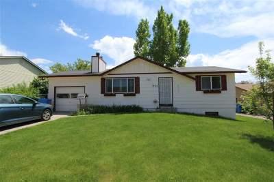 Pocatello Single Family Home For Sale: 1455 Golden Gate