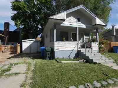 Pocatello Single Family Home For Sale: 1116 E Clark