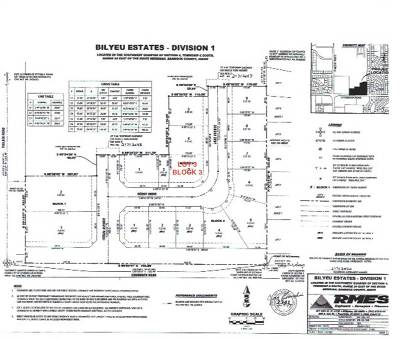 Chubbuck Residential Lots & Land For Sale: Bilyeu Estates